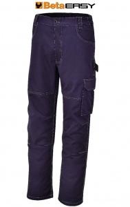 Pantaloni work twill t/c beta 7840bl blu - dettaglio 1