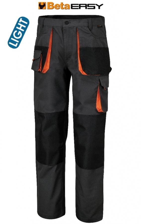 Pantaloni easy twill beta 7860e grigio - dettaglio 1