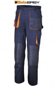 Pantaloni easy twill beta 7870e blu - dettaglio 1