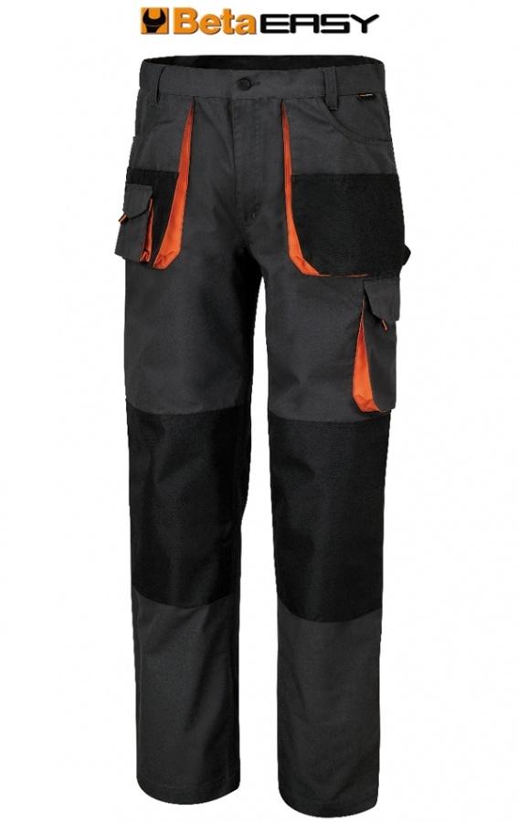 Pantaloni easy canvas beta 7900e grigio - dettaglio 1