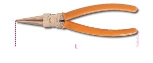 Pinza anelli elastici antiscintilla becchi diritti beta 1032ba - dettaglio 1