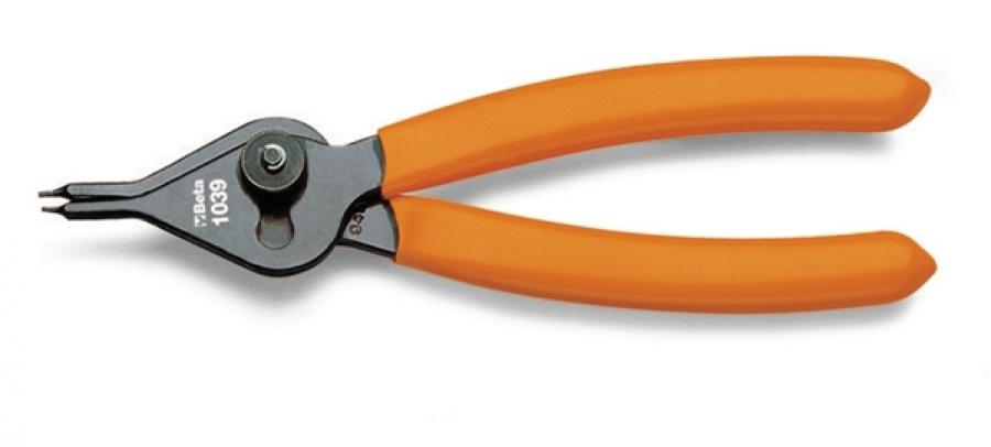 Pinza anelli elastici  becchi diritti beta 1039 - dettaglio 1