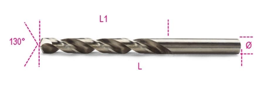 Punta rettificata cobalto  beta 415 - dettaglio 1