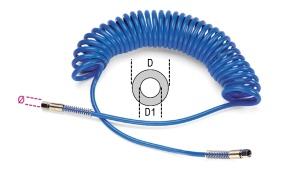 Spirale poliuretano estensibile 1/4 beta 1915b - dettaglio 1