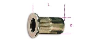 Inserti filettati acciaio  beta 1742r-a/m - dettaglio 1