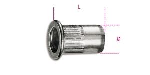 Inserti filettati alluminio  beta 1742r-al/m - dettaglio 1