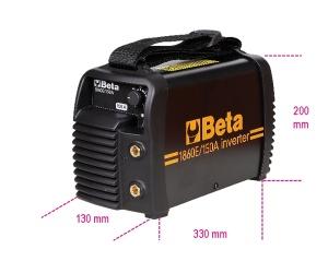 Saldatrice inverter ad elettrodo  beta 1860e/150a - dettaglio 1