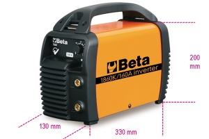 Saldatrice inverter per motogeneratore ad elettrodo  beta 1860k/160a - dettaglio 1