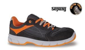 Scarpe basse tkk beta 7250nkk black/orange - dettaglio 1