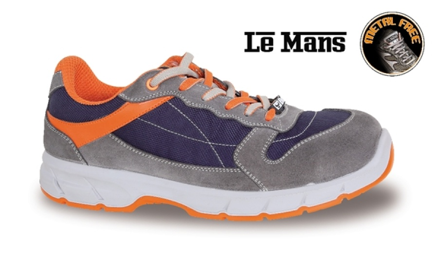 Scarpe basse trekking le mans beta 7258nkk grey blue for Cassettiere basse