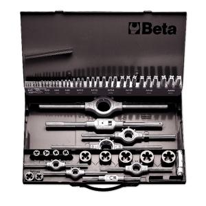 Assortimento maschi e filiere acciaio hss passo grosso beta 447/c53 - dettaglio 1