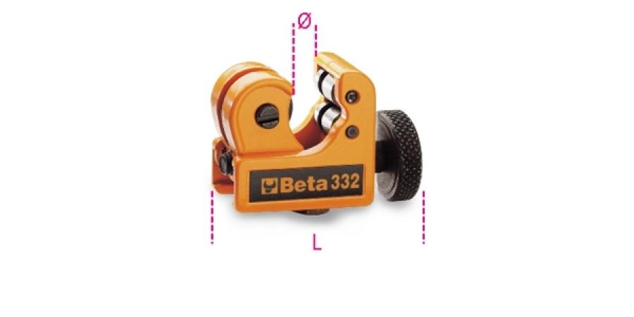 Tagliatubi mini beta rame 332 - dettaglio 1