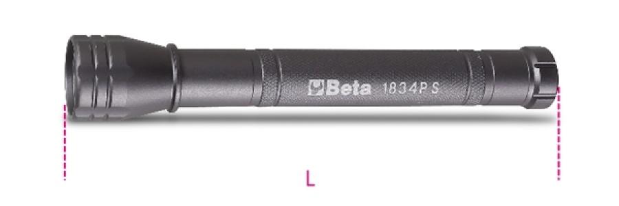 Torcia led  beta 1834ps - dettaglio 1