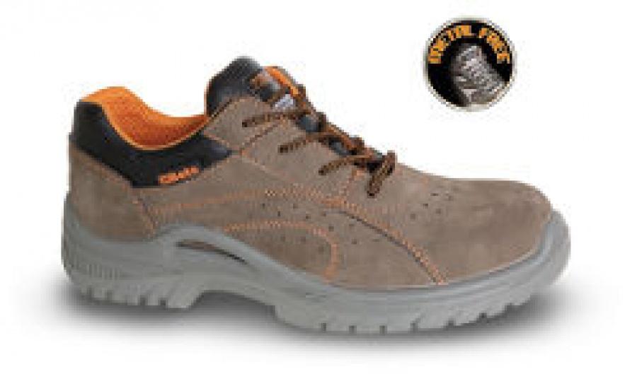 Shoes Suede Beta 7211BK