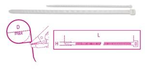Fascette nylon  beta 1748b/k - dettaglio 1