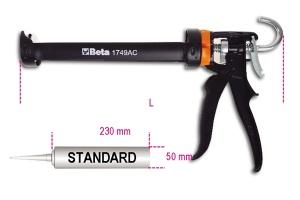 Pistola per ancorante chimico  beta 1749ac - dettaglio 1