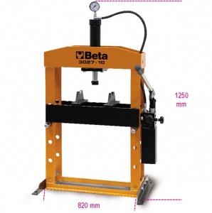 Pressa idraulica da banco con pistone  beta 3027 10 - dettaglio 1