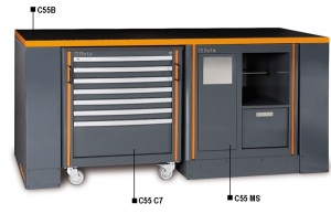 Postazione di lavoro racing system rsc55 beta c55b/4 - dettaglio 1