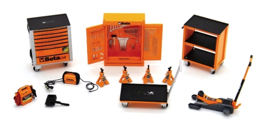 Miniatura garage  beta collection 9524sc - dettaglio 1