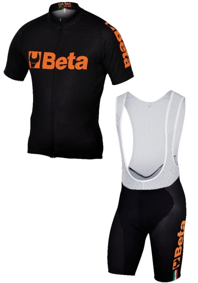 Completo road bike black  beta collection 9543 - dettaglio 1