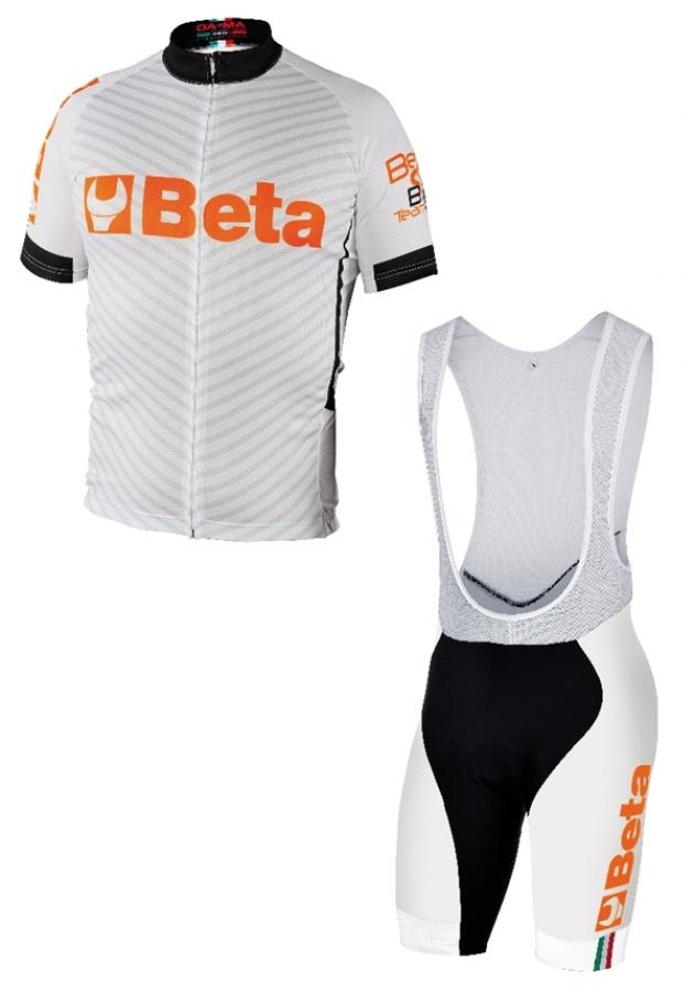 Completo road bike white  beta collection 9543w - dettaglio 1