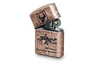 Accendino zippo bronzato  beta collection 9581 - dettaglio 1