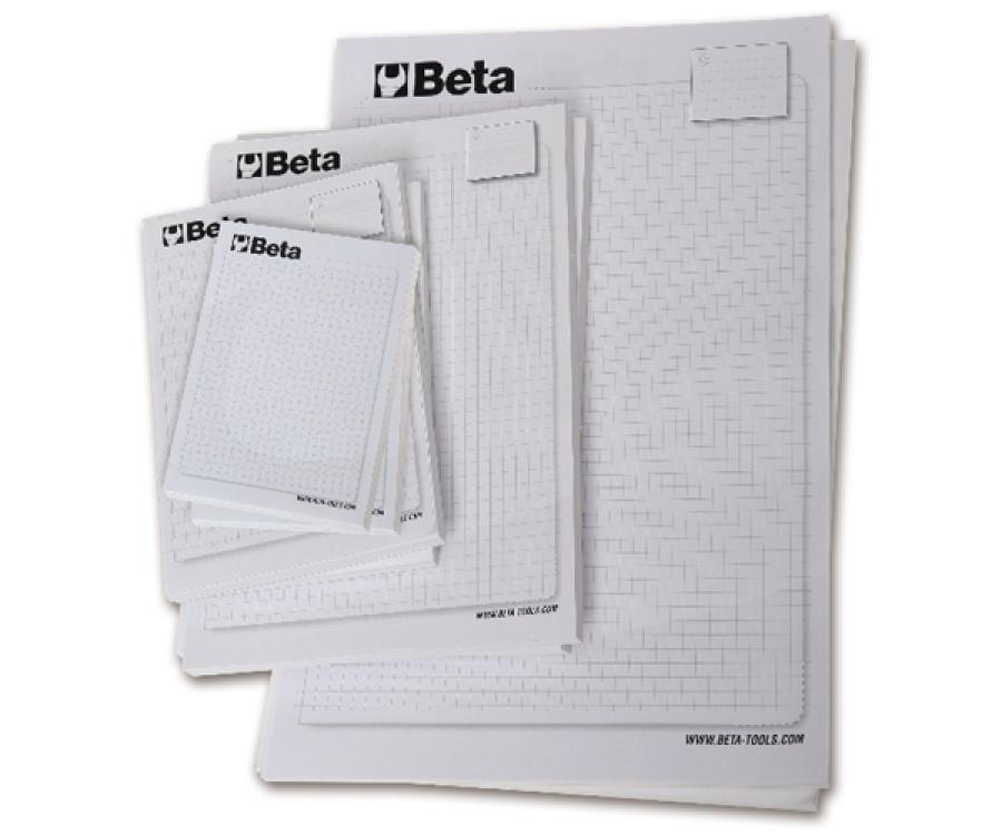 Set 10 block notes  beta collection 9588s - dettaglio 1