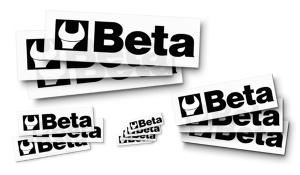 Set 10 adesivi trasparenti  beta collection 9591s - dettaglio 1
