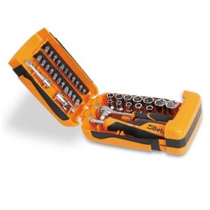 Set chiavi a bussola e accessori 1/4 beta 900/c39 - dettaglio 1