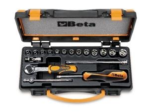 Set chiavi a bussola e accessori 1/4 beta 900/c13-5 - dettaglio 1