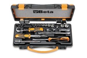 Set chiavi a bussola e accessori 1/4 beta 900/c13-8 - dettaglio 1
