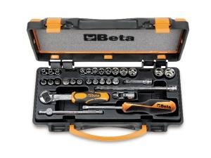 Set chiavi a bussola e accessori 1/4 beta 900/c24 - dettaglio 1