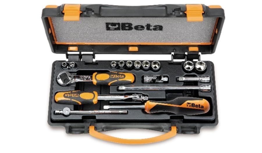 Set chiavi a bussola e accessori 1/4 beta 900as/c10 - dettaglio 1