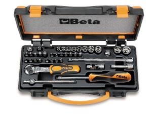 Set chiavi a bussola e accessori 1/4 beta 900/c11 - dettaglio 1