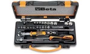 Set chiavi a bussola e accessori 1/4 beta 900mb/c28 - dettaglio 1