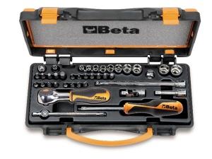 Set chiavi a bussola e accessori 1/4 beta 900/c11hr - dettaglio 1