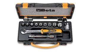 Set chiavi a bussola e accessori 3/8 beta 910b/c10 - dettaglio 1