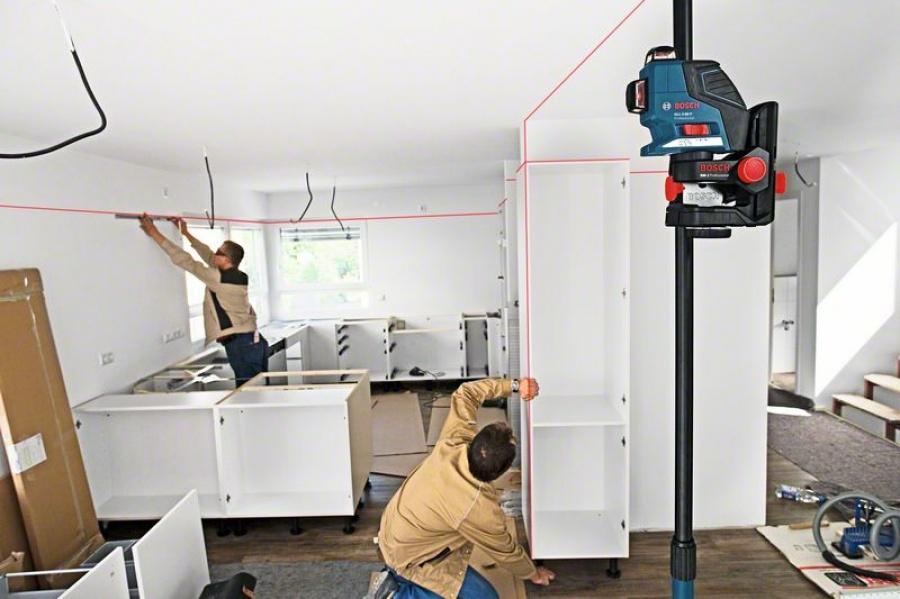 Livella laser bosch gll 3-80 p professional - dettaglio 3
