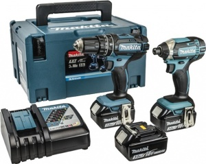 Set avvitatori 18v Makita DLX2131JX1