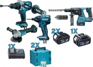 Set elettroutensili 18v makita DLX4090TJ  - dettaglio 1