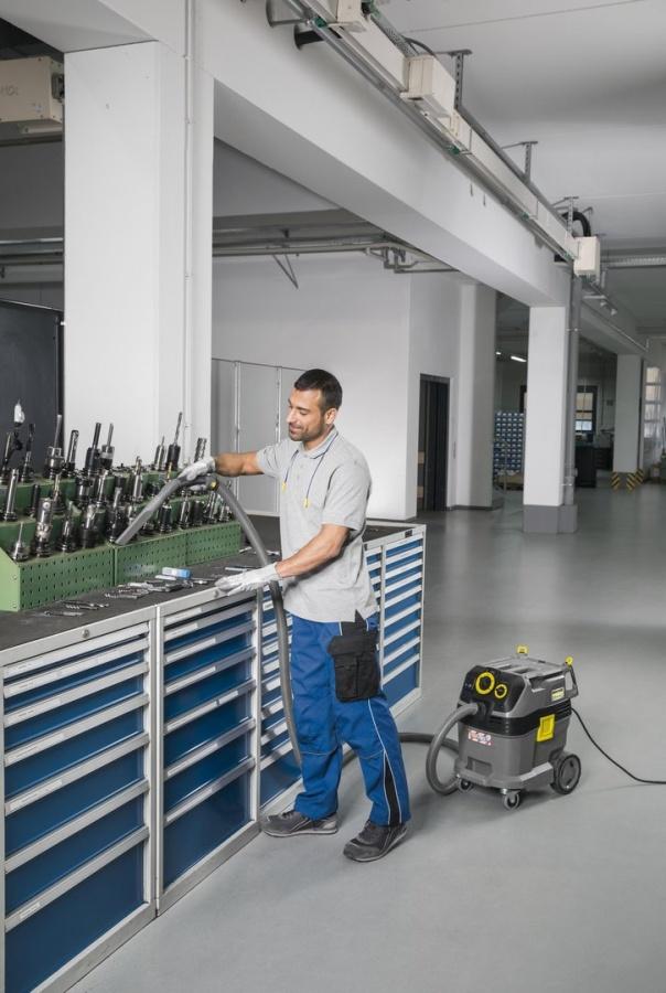 Aspirapolvere industriale Karcher NT 30/1 Tact Te - dettaglio 3