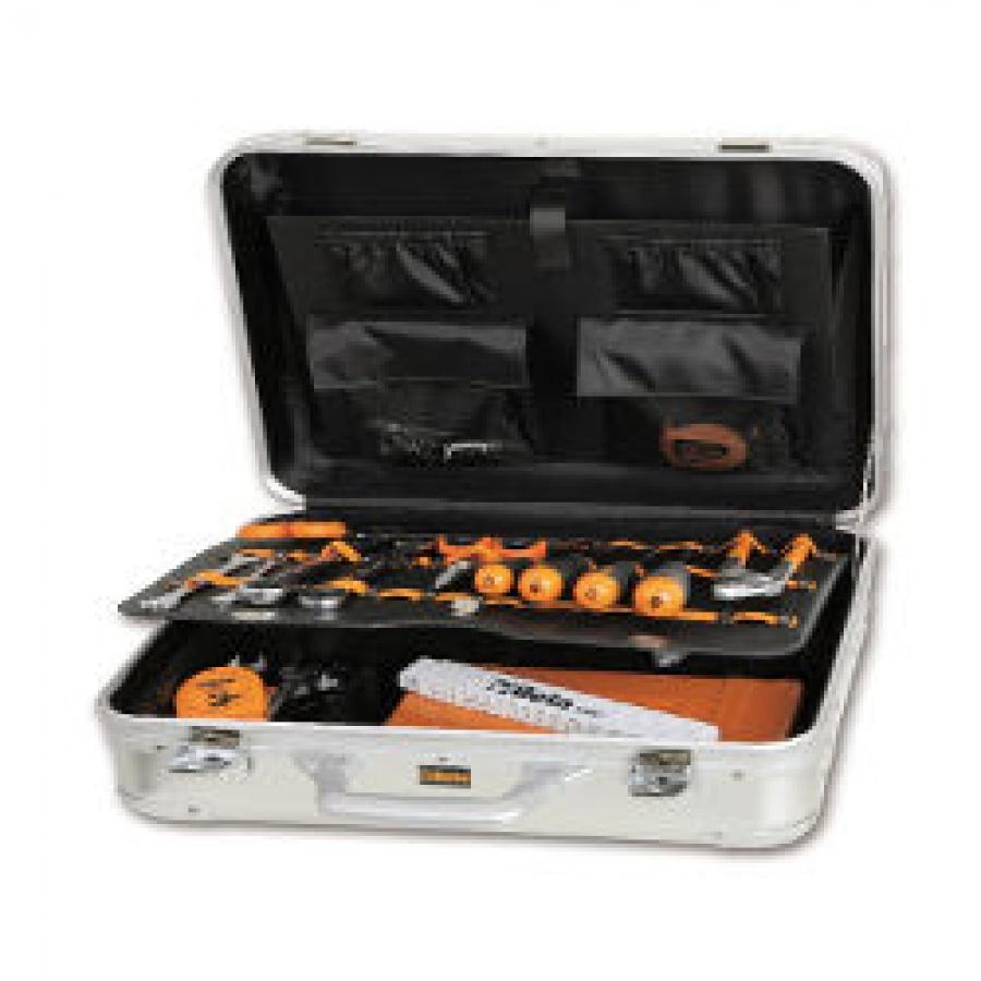 Valigia con assortimento di utensili per elettronica ed elettrotecnica Beta 2034ET/A