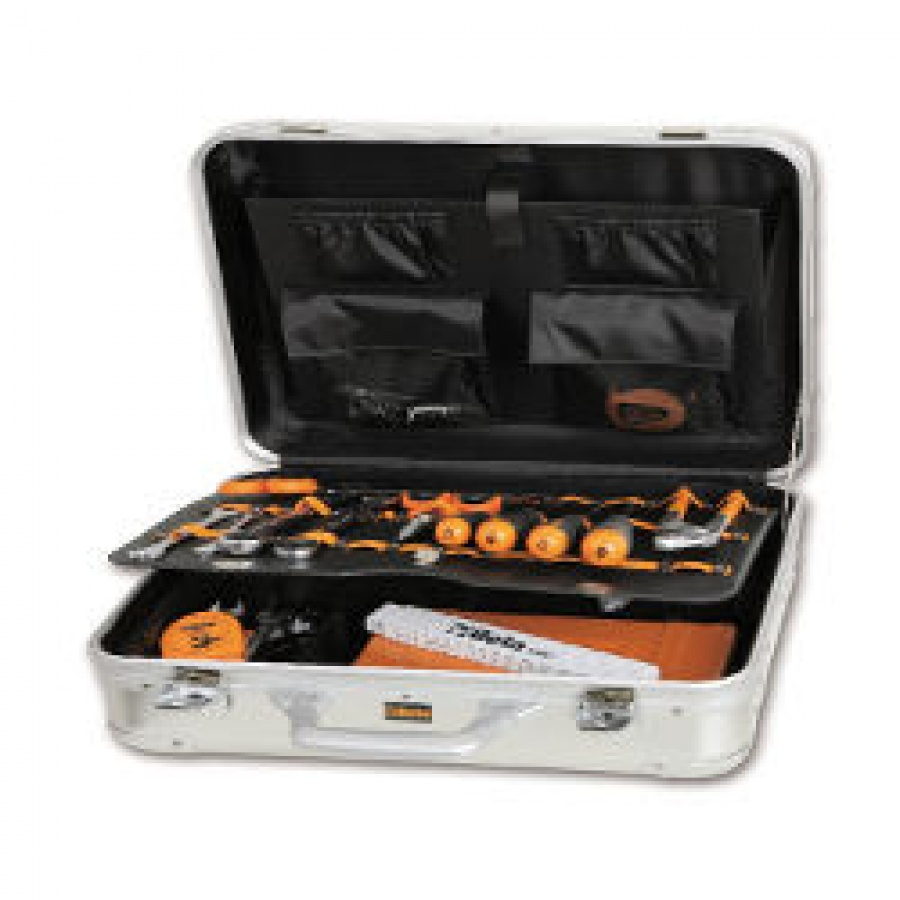 Valigia con assortimento di utensili per elettronica ed elettrotecnica Beta 2034EL/A
