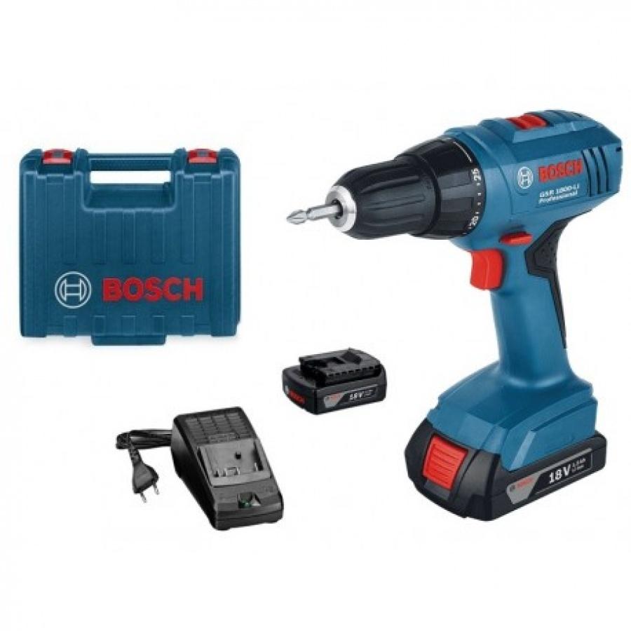 Bosch GSR 1800-LI Trapano avvitatore 1,5 ah - dettaglio 1