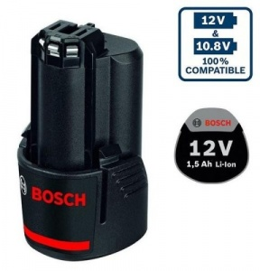 Bosch gba 12 v 1,5 ah batteria 1600z0002w - dettaglio 1