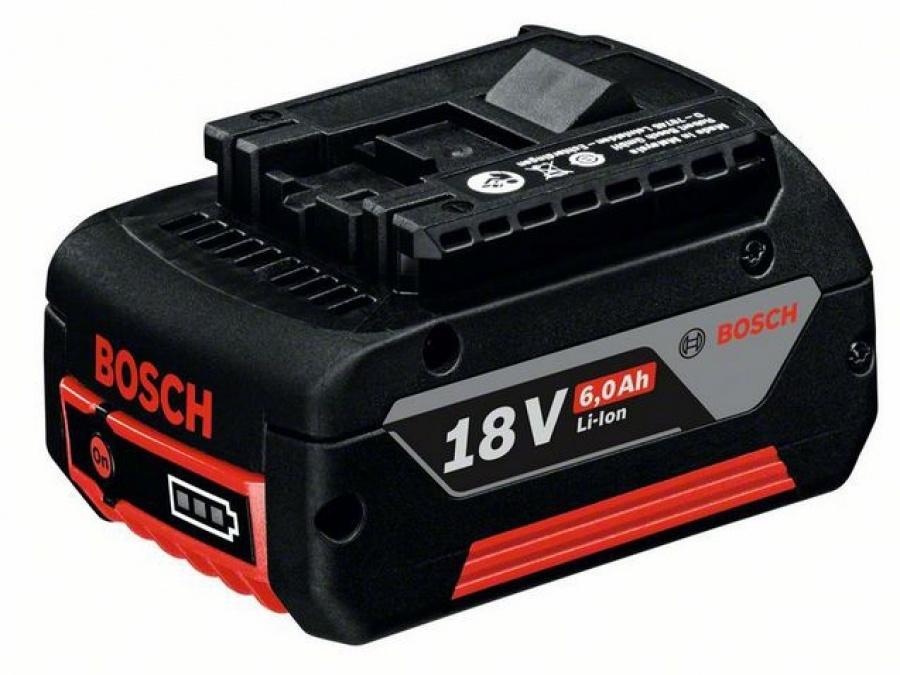 Bosch gba 18 v 6,0 ah m-c batteria 1600a004zn - dettaglio 1
