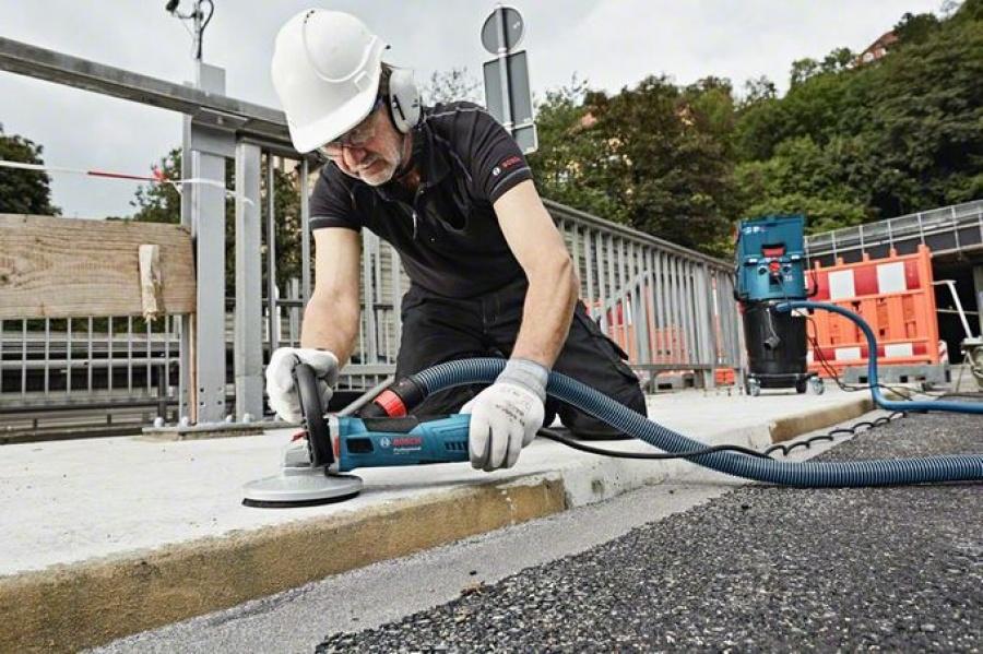 Bosch gbr 15 ca levigatrice per muratura 0601776000 - dettaglio 2