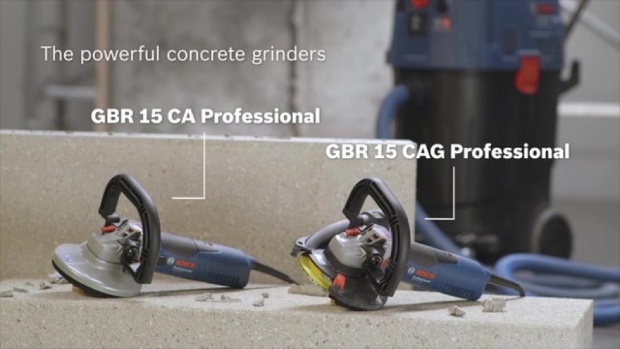 Bosch gbr 15 cag levigatrice per muratura 0601776001 - dettaglio 3
