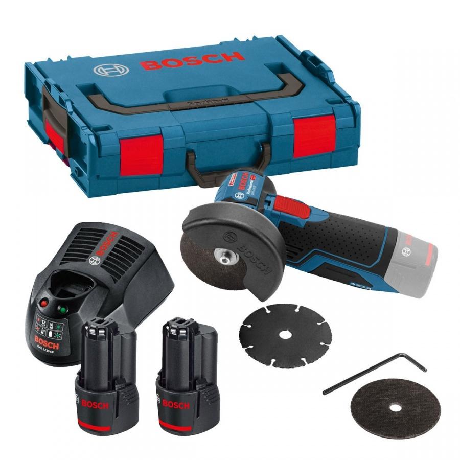 Bosch gws 12v-76 smerigliatrice angolare 3,0 ah 06019f200b - dettaglio 1