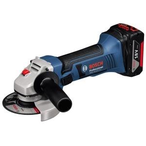 Bosch gws 18-125 v-li smerigliatrice angolare 5,0 ah 060193a30l - dettaglio 1
